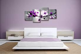 Resultado de imagen de cuadros de flores moradas
