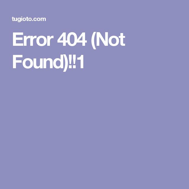 Error 404 (Not Found)!!1