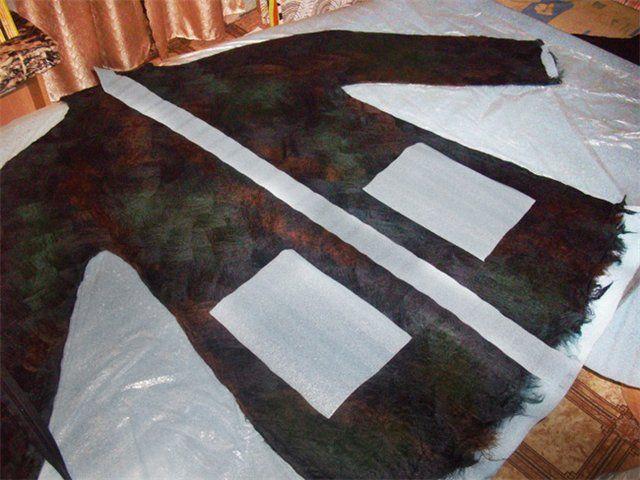 Цельноваляное пальто - Ярмарка Мастеров - ручная работа, handmade