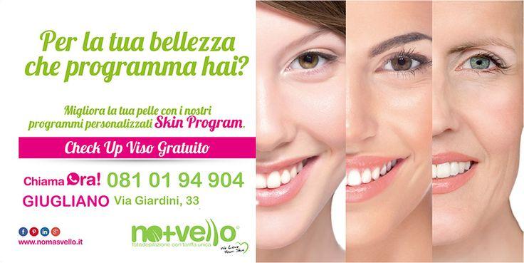 Scegli il Programma Giusto per la tua bellezza!  Info:. 081 0194904