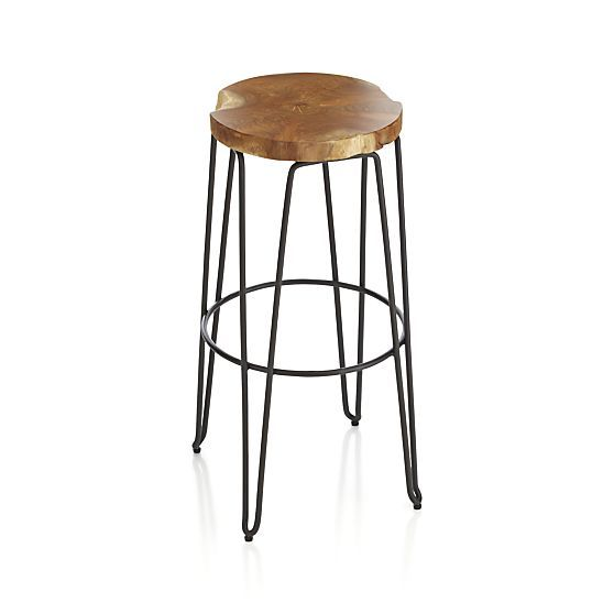 Origin Bar Stools | Crate and Barrel  sc 1 st  Pinterest & 88 best neighbor stools images on Pinterest | Chairs Stools and ... islam-shia.org