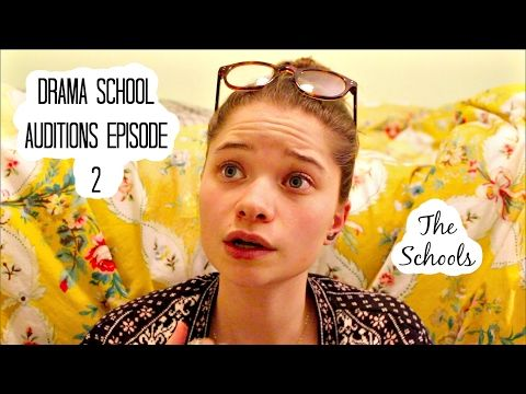 Drama School Auditions Episode 2 (The Schools) | Imogendsc - YouTube
