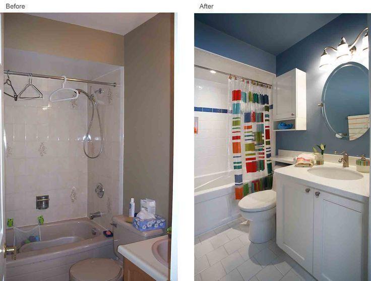 Interior Design Of Bathroom Renovation Before And After Toronto Canada Joanne Jakab Modern Bathroom Remodel Bathroom Renovation Cost Simple Bathroom Renovation