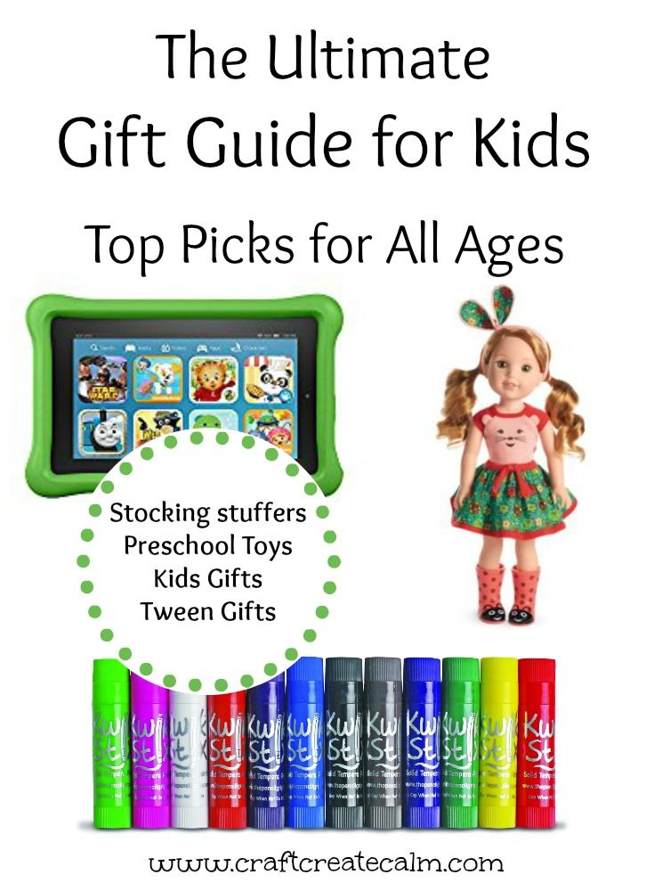 The ultimate gift guide for kids, gift guide for babies, preschoolers kids and tweens. Gift guide top picks 2016