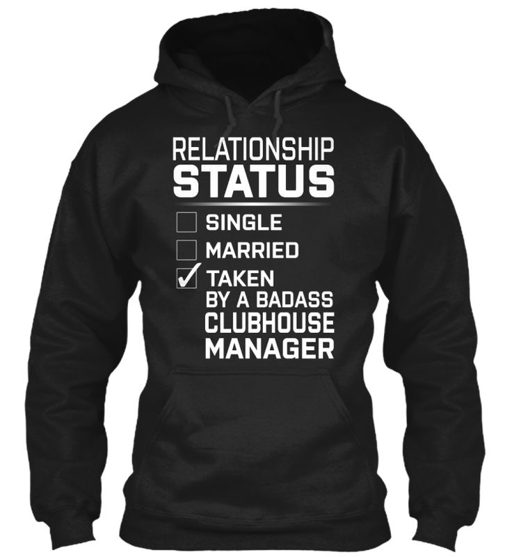Clubhouse Manager - Badass #ClubhouseManager | T shirt. Shirts. Relationship