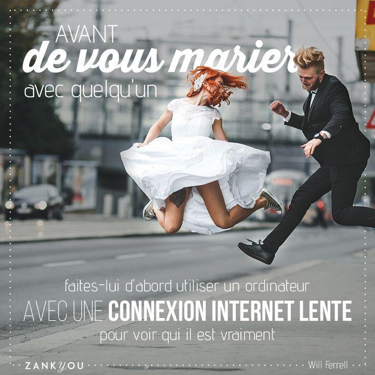 Wedding Quote #14 Le #test #ultime avant de vous #marier ? :P #citation #mariage #quote #wedding #love #fun #joke #amour & #humour