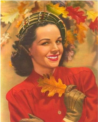 1940's AutumnVintage Fashion, Classic Lady, Vintage Illustration, Vintage Lady, 1940 S Autumn, 1940S Autumn, Vintage Bliss, Chronic Vintage, Vintage Style