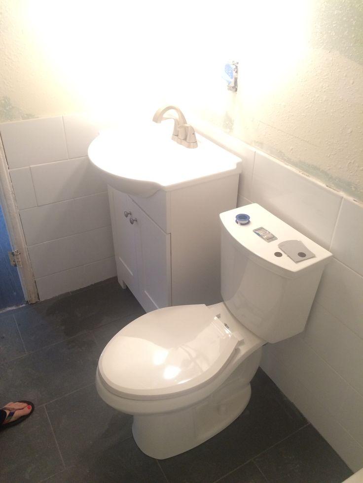 Beveled Subway Tile Bathtub