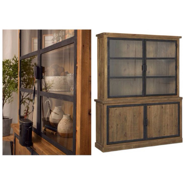 Tanzania hutch cabinet £1,535 #meyerandmarsh #home #dining room #study #homestyle #reclaimed #rustic #interiordesign