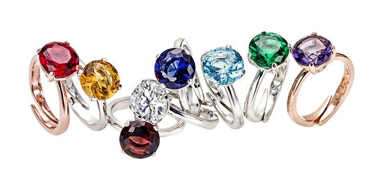 Solitario in argento e zircone http://www.argentoro.it/it/anelli/anello-solitario