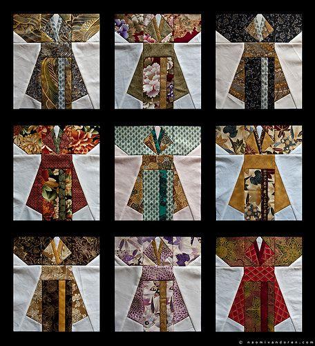 Kimono Quilt Blocks                                                                                                                                                                                 More