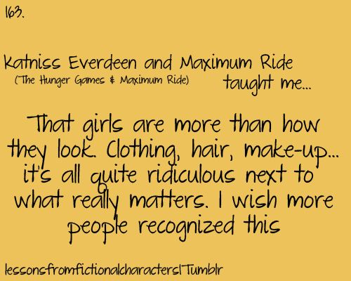 Katniss Everdeen and Maximum Ride  (The Hunger Games & Maximum Ride)