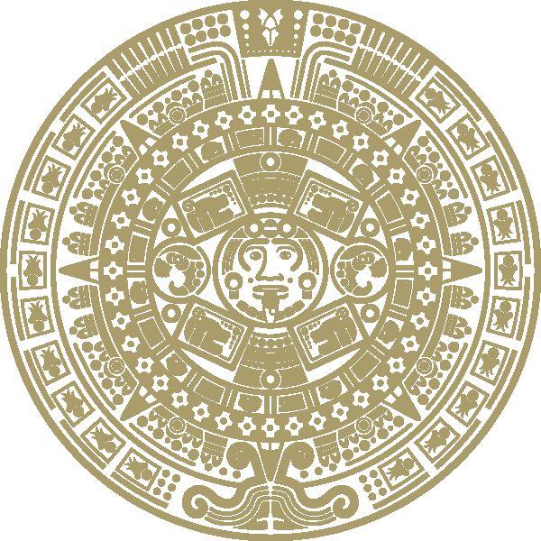 Wandtattoo Maya Kalender Wandtattoos Deko, Formen & Objekte Ornamente