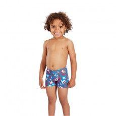 Speedo Fusion Fun Essential Allover Aquashort zwembroek junior danube @speedo