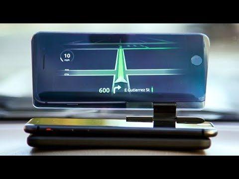 huddy u2013 headsup display navigation for safer driving