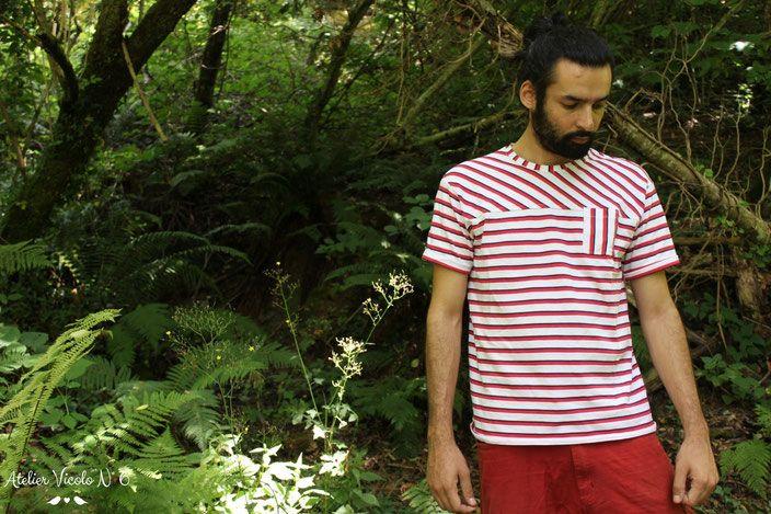 Come realizzare una T-shirt da una T-shirt preesistente e qualche consiglio su come personalizzarla, lo trovate sul blog www.ateliervicolon6.com