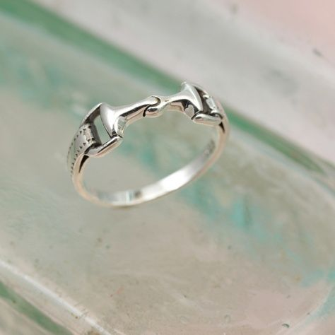 SSnaffle Bit Ring £18.00 This is the perfect ring for the horse lover in your life....that might even be you. All of our silver jewellery comes beautifully packaged in our new Christin Ranger gift boxes.terling Silver Snaffle Bit Ring IMG_4141 STAGED.jpg