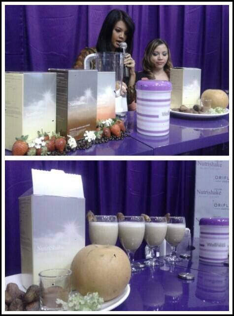 Farah Quinn in Action with NUTRISHAKE Oriflame. Feel Great Look Great!