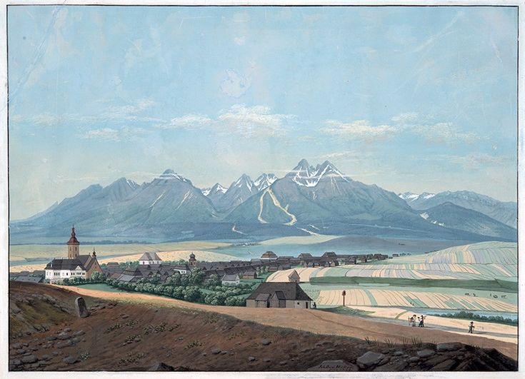 Jan Jakub Muller. Velka Lomnica, 1820