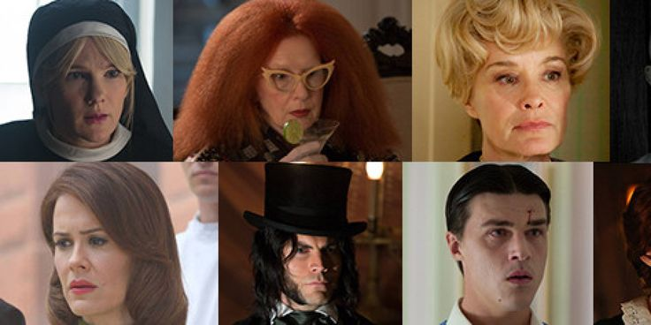 """""""American Horror Story"""" gives us the chance to watch a cast of actors reinvent themselves each season with some of the most terrifying, ass-kicking and cunning characters on television. But free of good and evil, or amount of screen time, w..."""