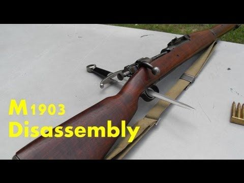 Springfield M1903 Disassembly