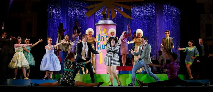The cast of TUTS Hairspray. Photo by Tim Matheson  #TUTS #Hairspray #Vancouver theatre #MalkinBowl