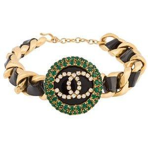Chanel Vintage vintage crystal choker necklace