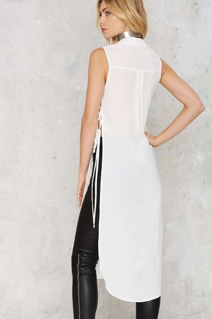 Ileana Lace-Up Maxi Top   Shop Clothes at Nasty Gal!