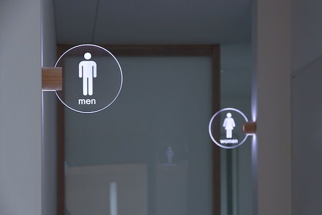 LED Toilet lighting sign – Masahiro Minami Design