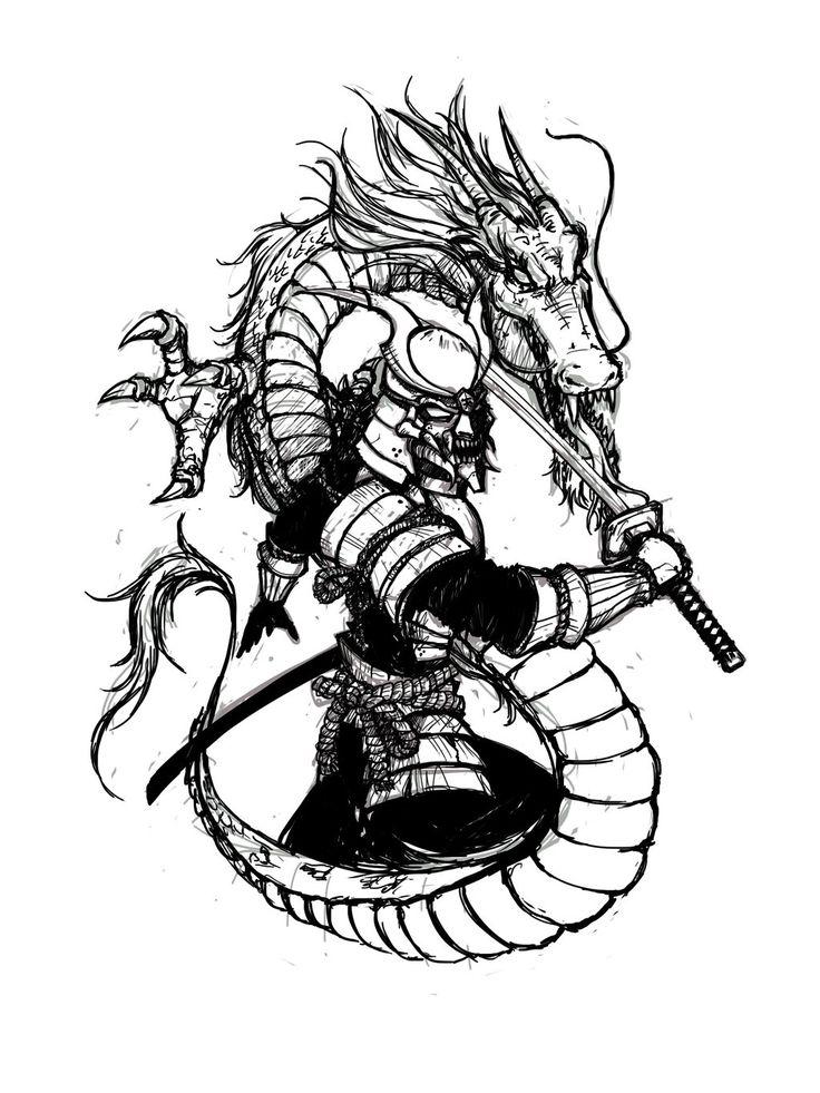 железа под картинки для тату в виде самурая его развитие