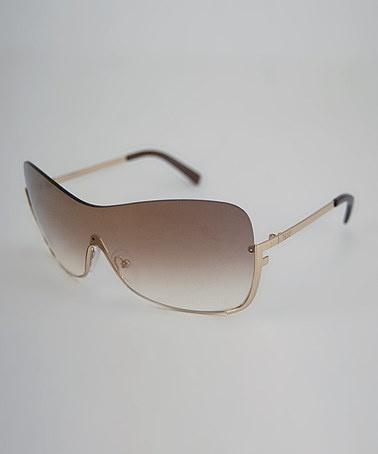 b4e9d367ee3f Fendi Metal Shield Sunglasses