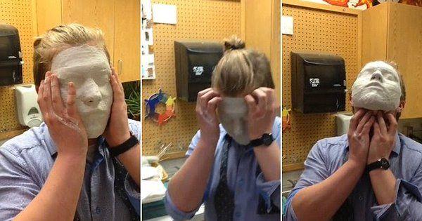 La clip di LiveLeak Channel diventa virale su YouTube. Momenti di paura per uno studente di una scuola d'arte.