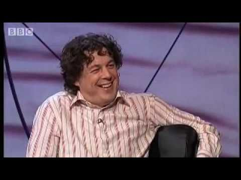 VIDEO: What Rhymes with Purple? Alan Davies has a few guesses. (From the television show QI, hosted by Stephen Fry.) [2:25]