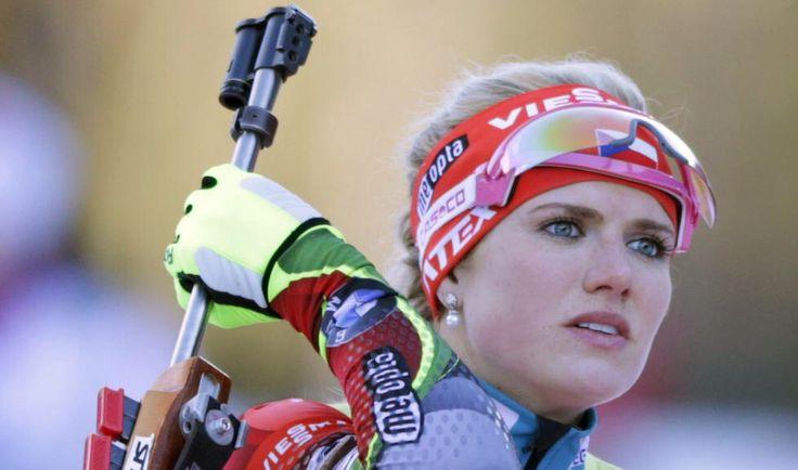 Photograph Gabriela Soukalová Biathlon by bradleywebb1997 on 500px