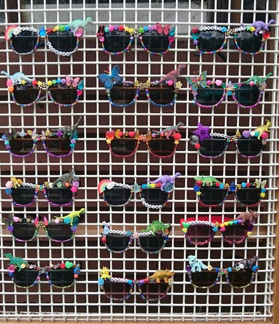 Hen party accessories, design your own festival sunglasses, group fancy dress…