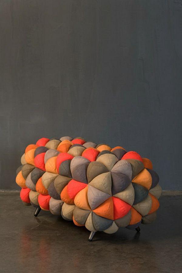 Die besten 25+ kleines Sofa Ideen auf Pinterest Möbeldesign für - anana designer sitzmobel weicher stoff aqua creations