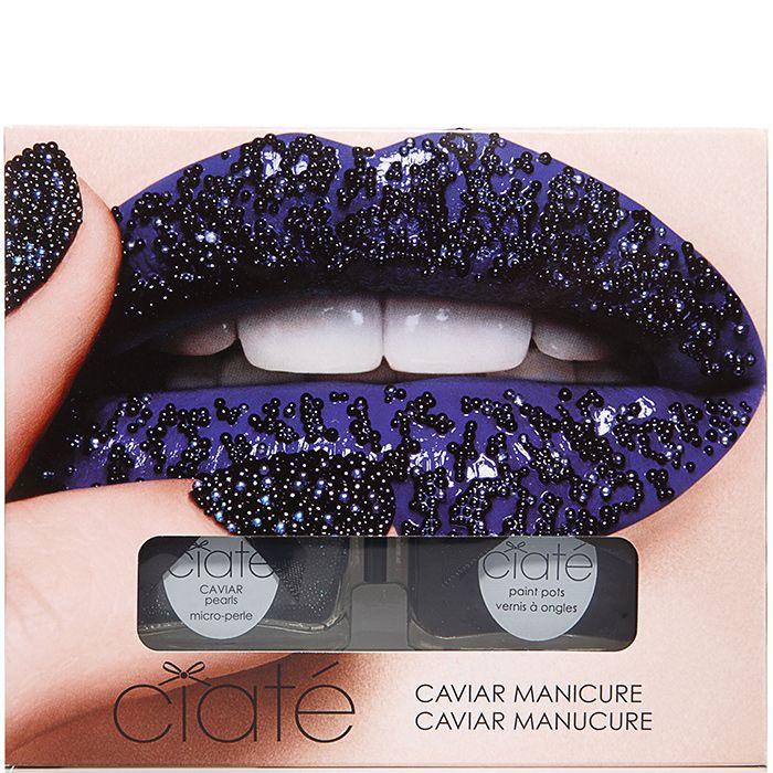 Kit de Manicura Black Caviar - Ciaté   beauteprivee.es