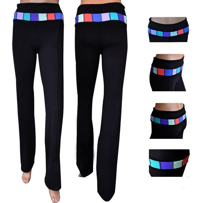 lululemon sale online Yoga Groove Pants Black Stripe Colorful Warehouse Sale http://lululemonfactoryoutlet2014.com