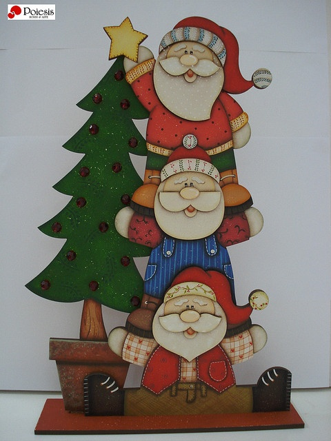 Trio de Noel by POIESIS - Mogi das Cruzes, via Flickr