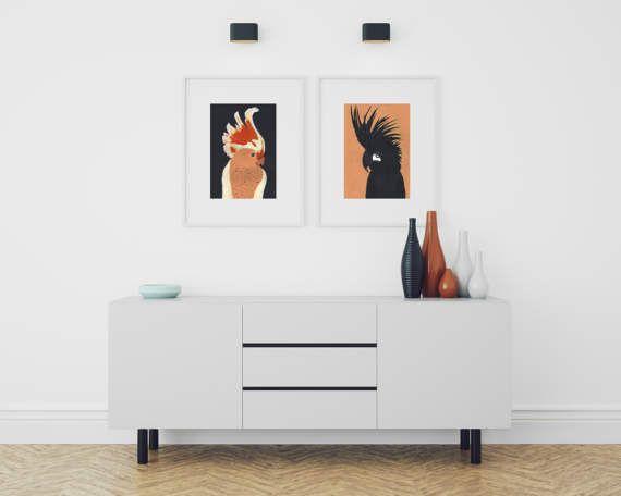 Set of 2 posters Love birds Parrots art Couple art by ZuskaArt    ZuskaArt : artwork | watercolor painting | art prints | canvas art | framed art | canvas painting | watercolour | art prints | art posters | watercolor art | giclee prints | poster art | print wall | water painting | prints for sale | giclee |painting on canvas