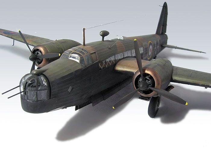 Vickers Wellington Mk.Ic by Jamie Haggo (Trumpeter 1/48)
