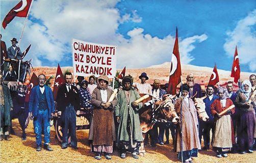 Cumhuriyetimizin 91. Kuruluş Yıl Dönümü Kutlu Olsun...  #CumhuriyetBayramı #Yıldönümü #Cumhuriyet #Atatürk