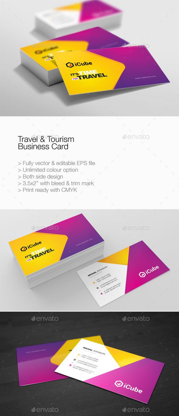 Template Is Editable Text Logo Colour Resizable Scalable Vector Based Designed In Adobe Illustrator Cs5 I Travel And Tourism Cards Clever Business Cards