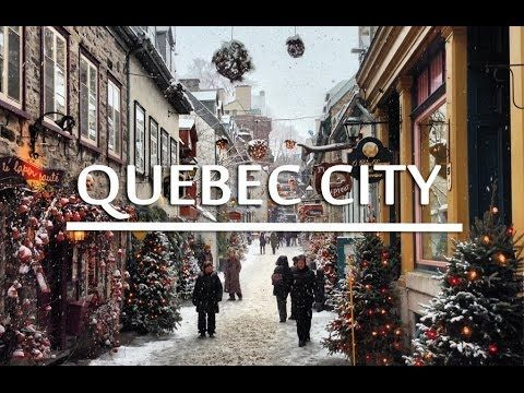 In this travel video guide to Quebec City, I travel around Quebec City including…