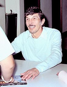 Leonard Nimoy signing autographs at a Star Trek convention, c. 1980 - Wikipedia, the free encyclopedia