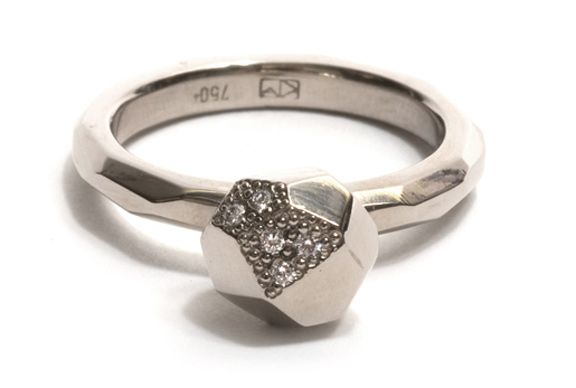 Absolutely love this 'Faceted Gem' ring by Krista McRae