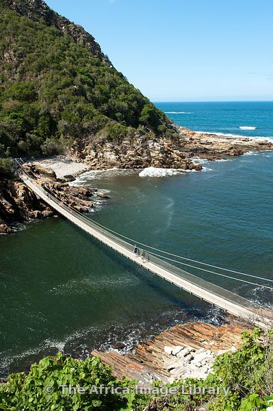 Storms River Suspension Bridge, Tsitsikamma, Garden Route National Park | South Africa.