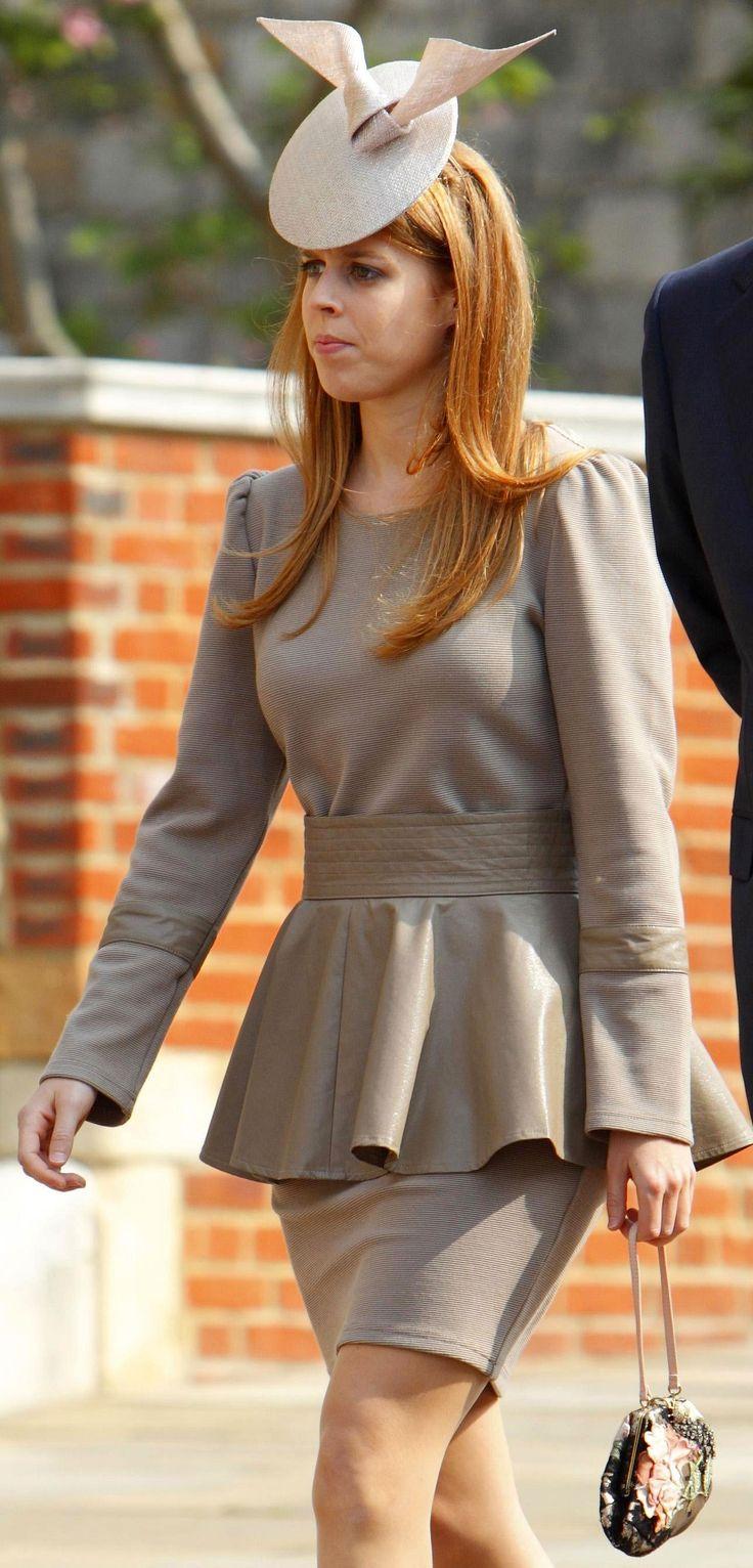 Princess Beatrice of York, DOB Aug 8, 1988, daughter of Prince Andrew, Duke of York and Sarah Ferguson,