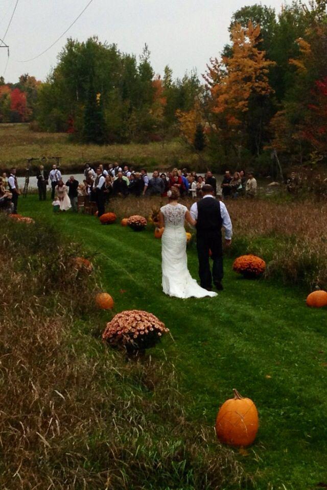 Outdoor Country Camo Wedding