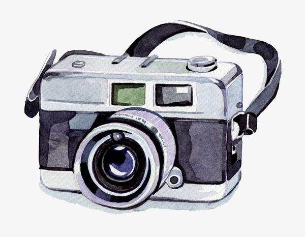 Watercolor Camera Watercolor Camera Cartoon Png Transparent Clipart Image And Psd File For Free Download Fotograf Makinesi Illustrasyonlar Fotograf